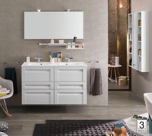 Delpha - unique wood-- - Bathroom Furniture
