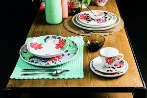 ARZBERG- PORZELLAN -  - Dinner Plate
