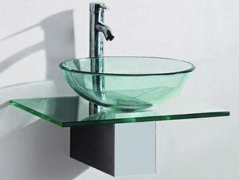 UsiRama.com - meuble sdb pas cher en bois massif vado - Bathroom Furniture