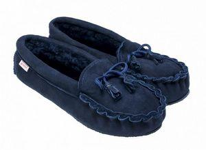 BABBI - winnetou navy-homme - Slippers