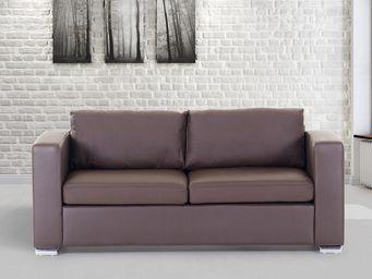 BELIANI - canapés en cuir - 3 Seater Sofa