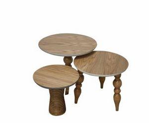 Almas -  - Round Coffee Table