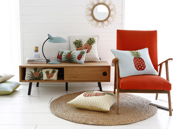 Art De Lys - collection ananas / pineapple - Square Cushion