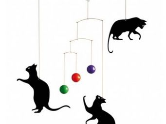 FLENSTED MOBILES - feline - Crib Mobile