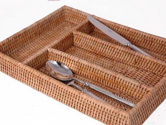BaolgiChic - rotin naturel - Cutlery Tray