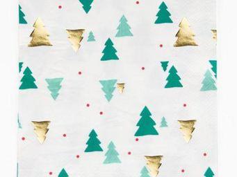 MY LITTLE DAY - sapins de noël - Paper Christmas Napkin
