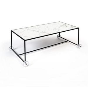 EXTRANORM - opportuniste - Coffee Table With Casters