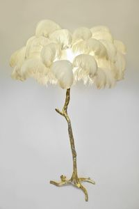 A MODERN GRAND TOUR - the feather  - Table Lamp