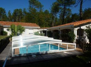 Abri-Integral -  - Sliding/telescopic Pool Enclosure
