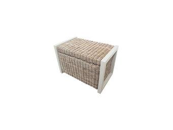 City Green - coffre banc de jardin en kubu 2 places malacca - 4 - Garden Bench With Storage