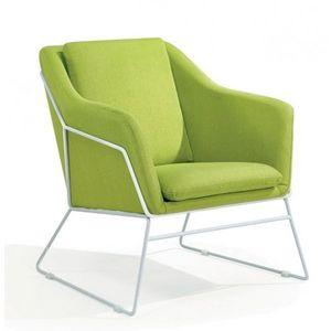 Mathi Design - fauteuil narvik vert - Armchair