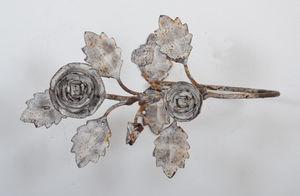 Coquecigrues - paire d' embrasses métal roses (2) - Tieback