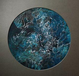 CLEMENTINE BRANDIBAS - ecumes - Embroidery