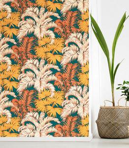 THEVENON - coco vert mousse - Wallpaper