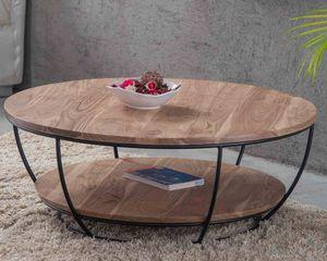 MEUBLE HOUSE -  - Round Coffee Table