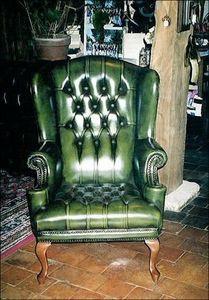 Techni Salons -  - Armchair With Headrest