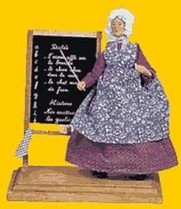 Sylvette Amy santons - institutrice / teacher - Christmas Figurine