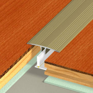 DINAC - seuil de porte à clipser duo  - Metal Threshold Strip