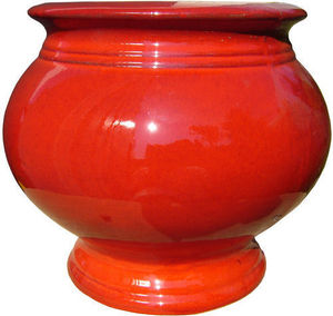 AMBIANCES & MATIERES DIFFUSION - boule medicis rouge - Garden Pot