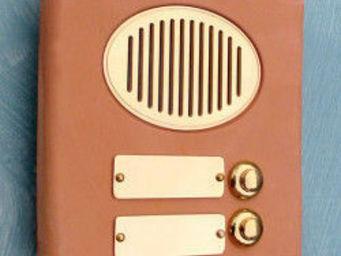 Replicata - klingelplatte terracotta 2 - Door Bell