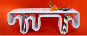 ANIMI CAUSA -  - Coffee Table With Shelf