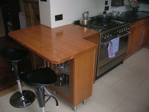Bordercraft - american cherry - Kitchen Worktop