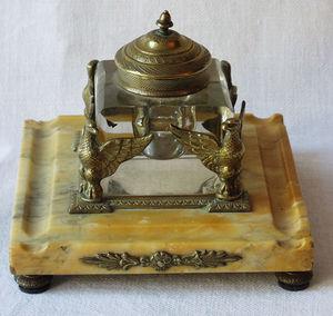 Antiquités Eric de Brégeot -  - Ink Pot