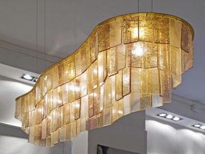 Adriana Lohmann - golden clouds - Hanging Lamp