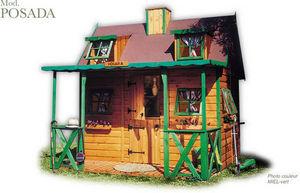 CABANES GREEN HOUSE - posada - Children's Garden Play House