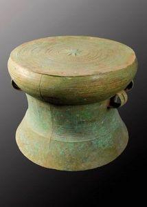Galerie Christophe Hioco - tambour de pluie - Drum