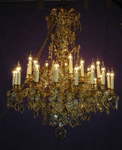 Philippe de Beauvais - lustre à 35 lumières (dont 6 internes) - Chandelier