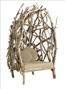Bleu Nature - louise crusoé - Garden Armchair