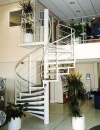 Albion Design Of Cambridge - commercial range - Spiral Staircase