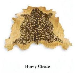 Sofic - horsy girafe - Animal Skin Rug