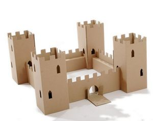 PAPERPOD FRANCE -  - Castle Toy