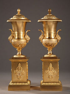 Galerie Atena -  - Covered Vase