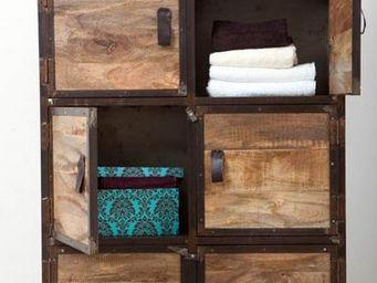 Miliboo - industria armoire - Low Chest