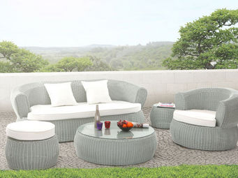 Miliboo - grenadines jardin - Garden Furniture Set