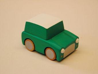 KUKKIA - k001-grn-kuruma - Wooden Toy