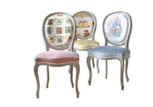 Moissonnier -  - Medallion Chair