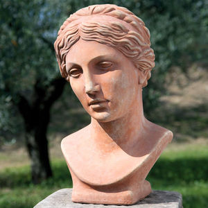 POGGI UGO -  - Bust Sculpture