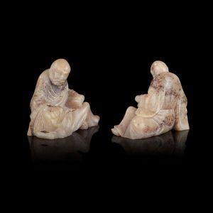 Expertissim - statuette en stéatite. chine, xixe siècle - Figurine