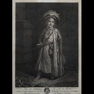 Expertissim - trois gravures en noir du xviiie siècle - Engraving