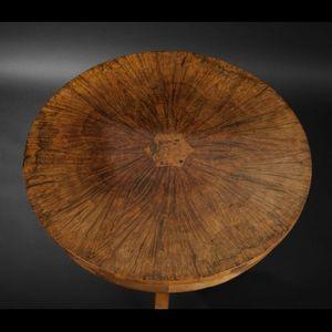 Expertissim - guéridon d'époque biedermeier - Pedestal Table