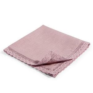 Maisons du monde - serviette lin lilas - Table Napkin