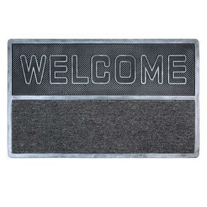 Maisons du monde - paillasson welcome argent - Doormat