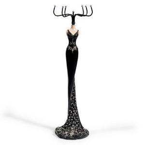 Maisons du monde - porte bijoux lady jewel noir - Jewellery Box