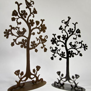 YAN HUBLOT - arbre à bijoux en métal noir persane - Jewellery Box