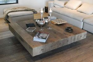 Cabuy Didier -  - Square Coffee Table