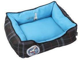 LES AVENTURES DE TINTIN - corbeille rectangle bleue les aventures de tintin  - Doggy Bed